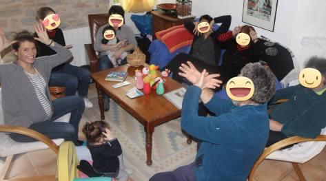 Atelier familial à domicile