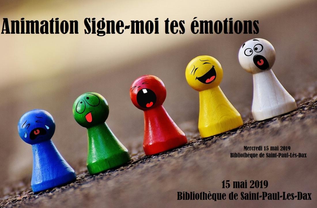 animation Signe moi tes émotions Saint Paul